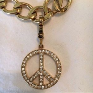 Juicy Couture Peace Sign Charm